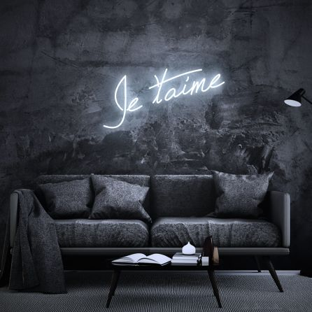 Je Taime French Neon Sign