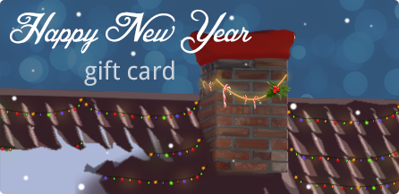Happy new year virtual gift card